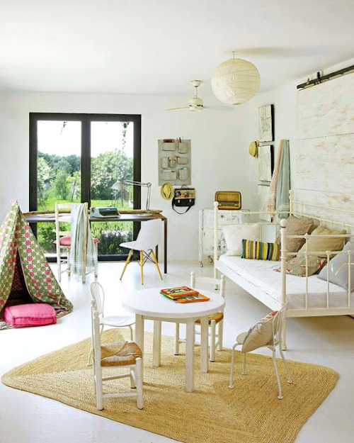 eclectic mix of vintage and design