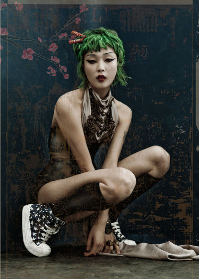 koreanmodel:    Kim Sung Hee by Kah Poon for Dossier Journal #7 Spring/Summer 2012