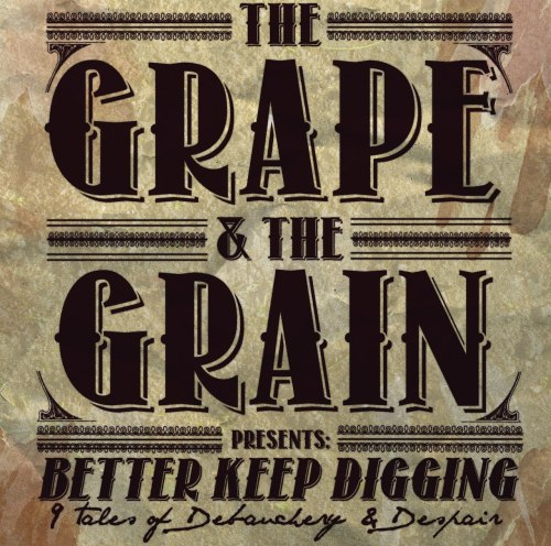 Daniel Grimsland (of 3)'s The Grape And The Grain released the debut's cover art! Designed by Nightmares For A Week's Steven Markota! Follow @GrapeGrainMusic ]]>