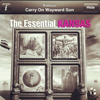 Rockin' out #whatimlisteningtonow #supernatural (Taken with Instagram at Llandaf Railway Station (LLN))