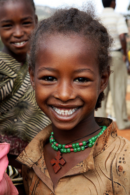 Girl with beautiful smile by ngari.norway on Flickr. ethiopia
