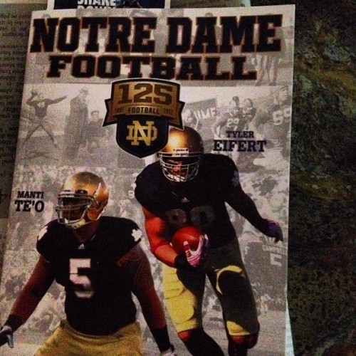 can't wait for this season!!!! #notredamefootball #notredame #football #collage (Taken with Instagram)