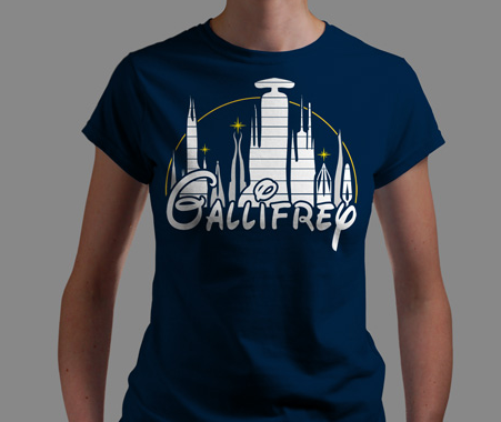 T-shirt of the day: Disneyland Gallifrey tee Share your love for Doctor Who's home world with this t-shirt. Only on sale for today at Qwertee. Link Submitted by Delsyd