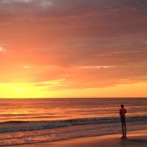 Another #MadeiraBeach #Sunset ~ #MobiTog #iPhoneography #Instagram #squaready  (Taken with Instagram at Madeira Beach, Florida)