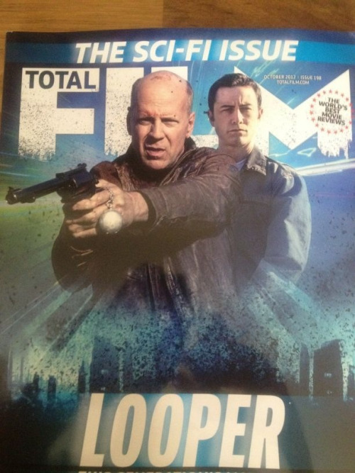 Look who graces the cover of Total Film's October Sci Fi issue!