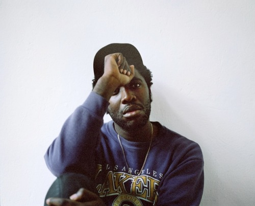 Kele Okereke. (via Bloc Party | Mustafah Abdulaziz)
