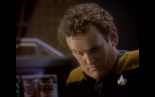 "that-is-illogical:   O'Brien: ""Computer, you and I need to have a little talk""  My prediction:"