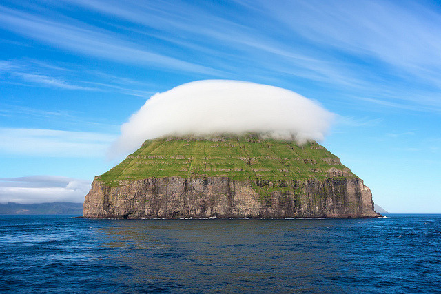 """No man is an island."" I'm not so sure about that anymore.   Faroe - Litla Dimun by Spumador on Flickr."