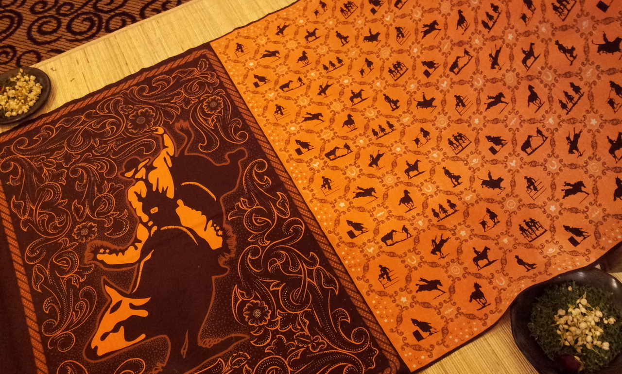 Rodeo Batik at the American Batik Exhibit, Grand Indonesia (Jakarta, Indonesia)