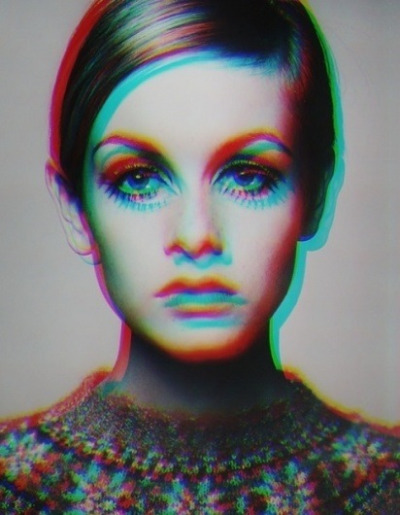 Twiggy in 3-D