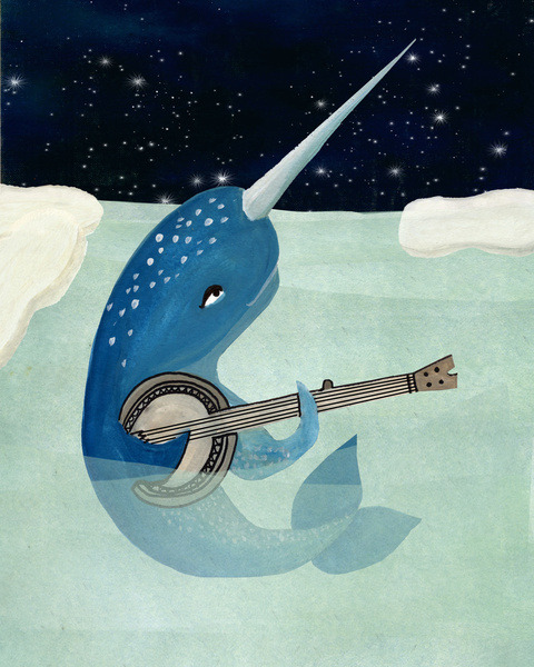 Let me just share this picture of a narwhal playing a banjo with you. You're welcome.