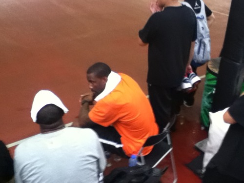 amare stoudemire  I was about 5 ft away from him at nike sports festival in shanghai china