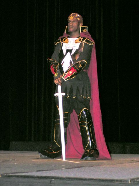 cosplayingwhileblack:  X Character: Ganondorf Series: Legend of Zelda  I would high-five him.