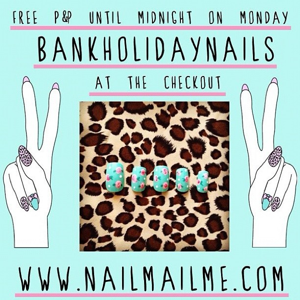 Free P&P on ALL UK and International orders until midnight on Monday the 27th August (GMT) (Taken with Instagram)