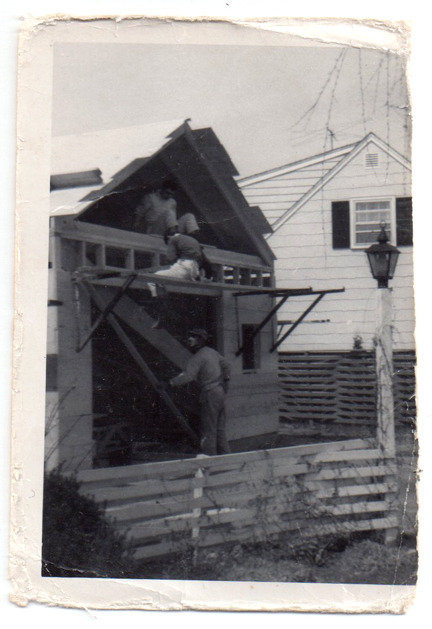 Uncle Tom, Dad and Gramp in East Providence, RI. April '65