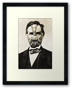 """Bane Lincoln"" Framed Prints by SixPixeldesign 