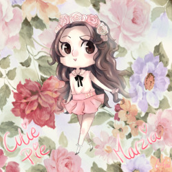 marziacutiepie:  faajitas:  Fanart of CutiePieMarzia *v* I linked it on her facebook :3 I hope she'll like ! I think I'm gonna do more of Marzia, she's so fun to draw ! ~ I love her sooo much ~   Aaaaaaw this is lovely! I love it so much *u*