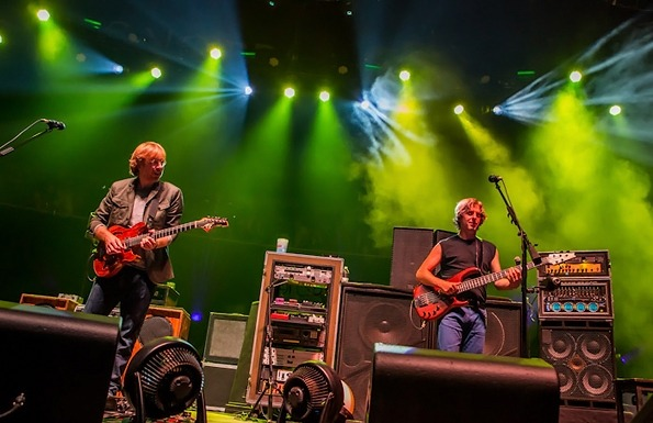 Phish perform in Long Beach