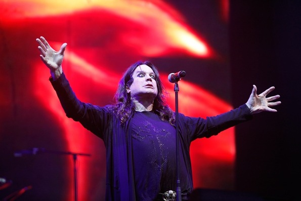 Ozzy Osbourne of Black Sabbath at Lollapalooza