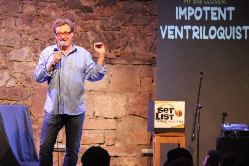 setlistcomedy:  The brilliant Greg Proops on Set List at the Edinburgh Fringe.