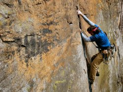 jasontylerburton:  Daniel on The Shining. Red River Gorge. Kentucky