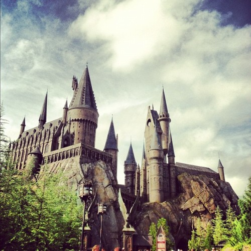 One of a zillion pictures. #nerdgasm #harrypotter  (Taken with Instagram at The Wizarding World Of Harry Potter)