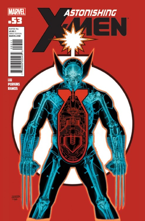 Astonishing X-Men v3 #53, October 2012, written by Marjorie Liu, penciled by Mike Perkins