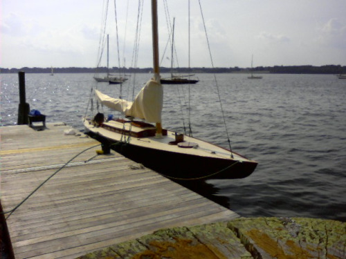 boatporn:  FALCON, a Q Boat at the Herreshoff Rendezvous.