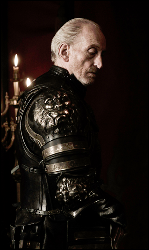 I like Charles Dance's portrayal of Tywin Lannister because he is sexy sexy sexy such a good actor.