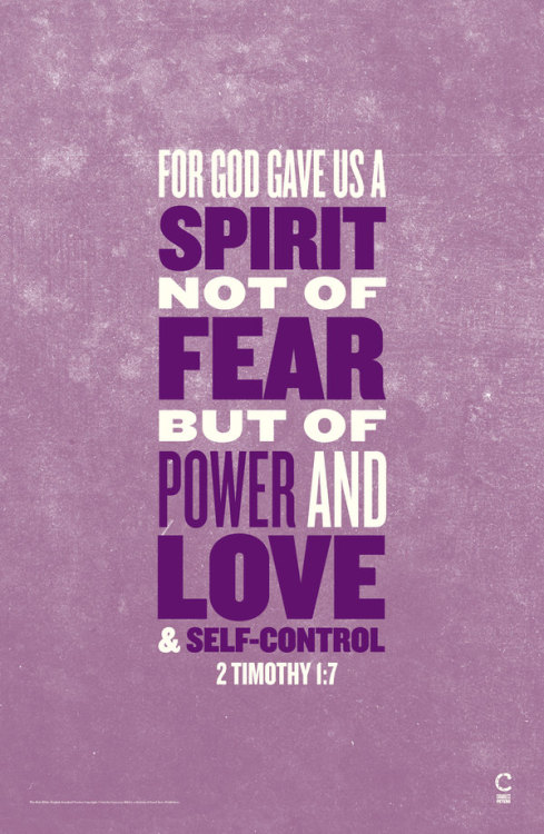 radioteopoli:  God gave us the power of love and self-control. - 2 Timothy 1:7