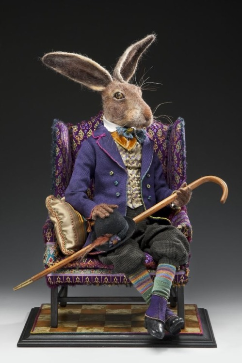 Autumn Alchemy: Needle Felt Art Hare