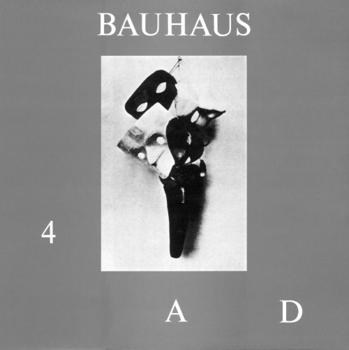 Bauhaus - 4ADA collection of the band's pre-1986 material, before changing labels.