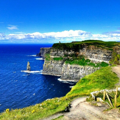 Taken with Instagram at Cliffs of Moher