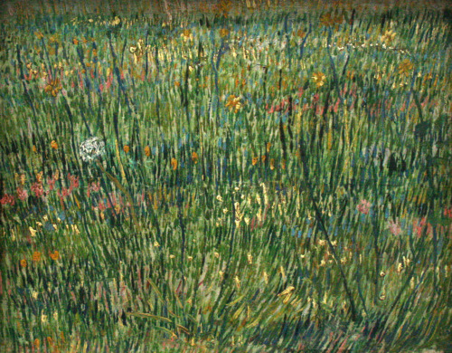 deadpaint:  Vincent van Gogh, Patch of Grass