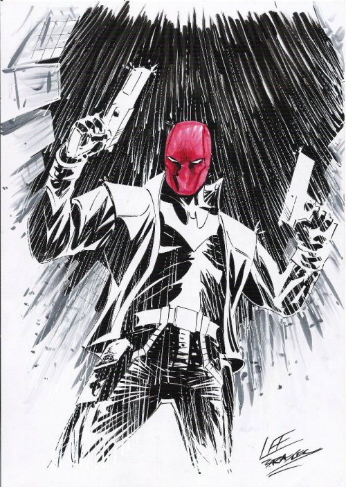 fuckyeahrhato:  Red Hood, by Lee Bradley.