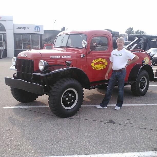 Power	Wagon #mopar #woodwardave (Taken with Instagram)
