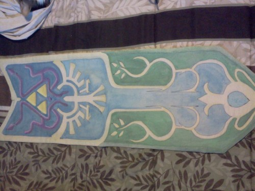 Finished tabard. Adding other photos as well, but spparently you can't do photosets on mobile? :(
