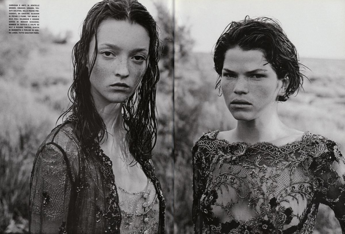 The Bohemian Couture -   Zoe Gaze and Audrey Marnay -  1998