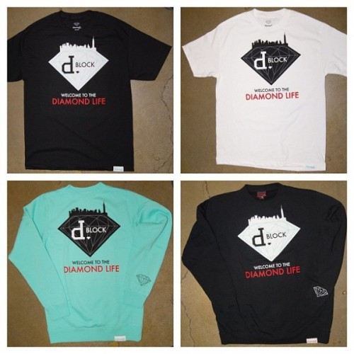Cool Fashion: Limited Edition Styles P x Diamond Supply Co. T-Shirt & Crew Neck Sweater To coincide with the release of The Diamond Project, Styles P has collaborated with Diamond Supply to release two limited edition t-shirts and crew neck sweaters for their Welcome To The Diamond Life collection.