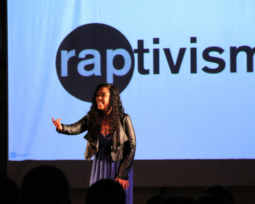 Pictures from my recent #RAPtivism @TEDx talk in Alaska. Watch it here.