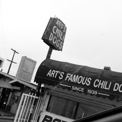 Art's Chili Dogs, Los Angeles.. an institution… (Taken with Instagram at Arts Chili Dog)