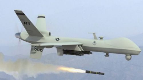 thepeoplesrecord:  37 killed, dozens injured in US drone attack in SomaliaAugust 25, 2012 Dozens of people have been killed in an attack carried out by a US assassination drone in southern Somalia, Press TV reports. The attack, which took place in the strategically important port city of Kismayo on Friday, claimed over 37 lives and injured dozens. Further details regarding the incident have not yet been released.  The US military uses remote-controlled drones in Somalia for reconnaissance operations and targeted killings. Washington has been carrying out assassination attacks using the unmanned aircraft in other countries including Afghanistan, Libya, Pakistan, and Yemen. The United States claims the CIA-run strikes are aimed at militants. But witness reports and figures offered by local authorities indicate the attacks have led to massive civilian deaths. The UN has condemned the US assassination drone strikes, saying they pose a challenge to international law. The weak Western-backed transitional government in Mogadishu has been battling al-Shabab fighters for the past five years, and is propped up by a strong African Union force from Uganda, Burundi, and Djibouti. Strategically located in the Horn of Africa, Somalia remains among the ones generating the highest number of refugees and internally-displaced persons in the world.  Source Note: In an effort to avoid criticism for murdering thousands of random civilians, the term militant is defined by the Obama administration as being a male over the age of 18 (military age).  I'm so sick of these motherfucking drones in our motherfucking airspace.