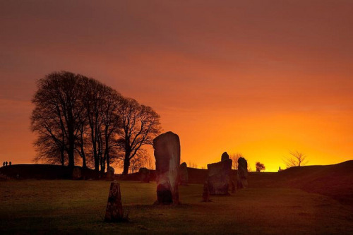 Avebury Stone Circle by Gail Johnson on Flickr.
