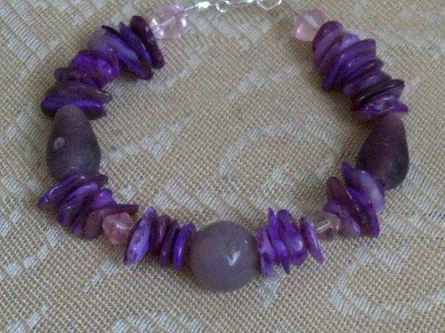 poisonpassion80:  Purple bracelet