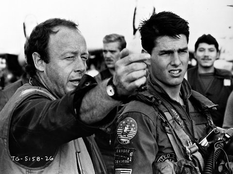 tony scott tom cruise top gun start up