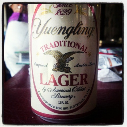 Woot! Unexpected surprise #Yuengling #beer  (Taken with Instagram)