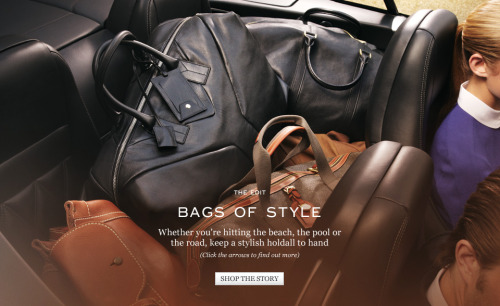 (via Bags of Style | The Edit | The Journal | MR PORTER)