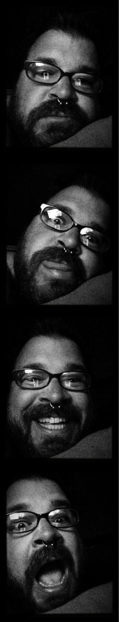Yay, I finally have all the hipstamatic apps!!! Incredibooth is free in the app store this week if you're interested!