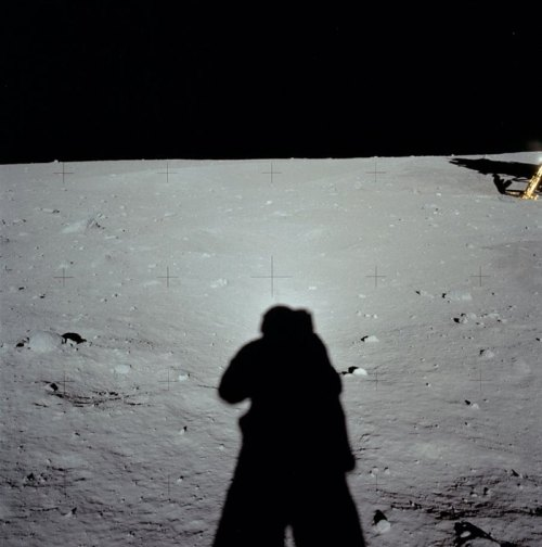 nevver:  RIP, The first photographer on the Moon