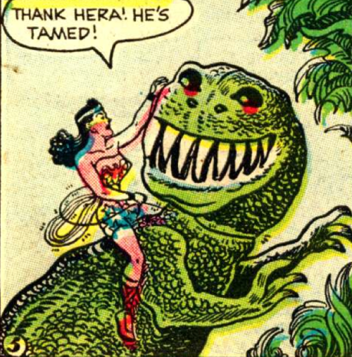 ricp:  Wonder Woman #97 by Robert Kanigher & H.G. Peter (1958)